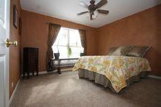 Warm Bedroom paint colors #Illinois #RealEstate #HouseForSale