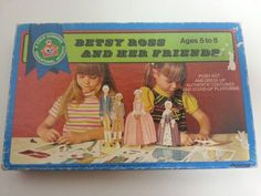 Betsy Ross Her Friends Paper Doll Uncut Clothes 60s Vtg Child Guidance Activity | eBay