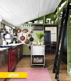 10 Kitchens With Cast Iron Pans on Display