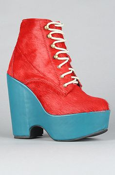 405c814ecd7 Shop Women s Jeffrey Campbell Wedge boots on Lyst. Track over 77 Jeffrey  Campbell Wedge boots for stock and sale updates.