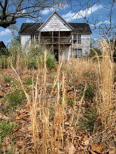 Abandoned Farmhouse, Ozarks, Arkansas
