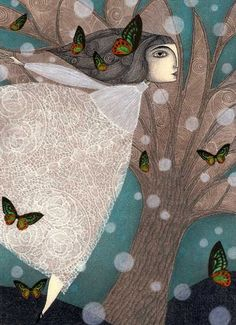Finding Winter by Judith Clay 30 - Illustrations by Judith Clay  <3 <3