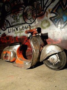 1000 Images About Rat Rod Mopeds Gysot On Pinterest