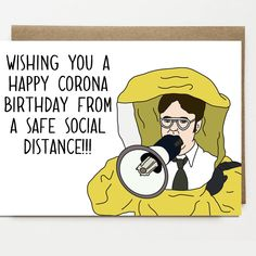 Excited to share this item from my shop: Funny Corona Birthday Card - Card For Friend - Greeting Card - Celebration - Quarantine Card - Social Distance Happy Birthday Brother Funny, Happy Birthday Best Friend Quotes, Birthday Message For Friend, Funny Happy Birthday Wishes, Birthday Cards For Brother, Birthday Wishes For Friend, Birthday Wishes Messages, Best Friends Funny, Happy Birthday Images