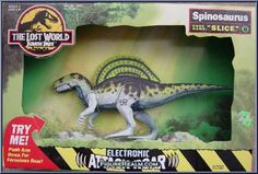 "Kenner Jurassic Park: The Lost World Electronic ""Slice"" Spinosaurus 1997"