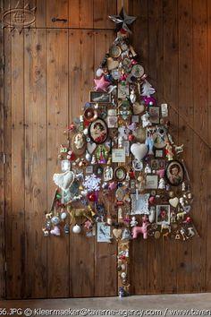 Collage Christmas tree