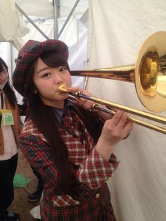 We love a girl that knows when to toot her own horn, Miichan! (Minami Minegishi of AKB48)