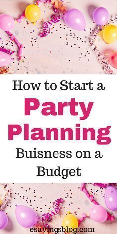 Start a Party Planning Business on a Budget Lillimarlene marachda Party Looking to start a party planning or decorating business? Check out how to start a party planning business on a budget! Home businesses on a Budget Event Planning Guide, Event Planning Business, Business Events, Corporate Events, Wedding Planning, Business Ideas, Business School, Retirement Planning, Party Planning Checklist
