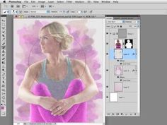 ▶ Photoshop Workbench 325: Watercolor Composite - YouTube