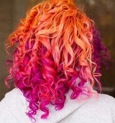 If I could count on my hair staying  as curly as all that after dying  I'd be so in for tHis look