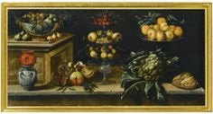 JUAN DE ESPINOSA MADRID CIRCA 1605/10 – 1671 ZARAGOZA STILL LIFE WITH FRUIT, SWEETS, FLOWERS AND A WINECOOLER
