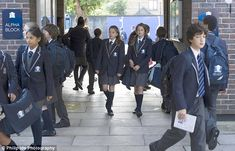 High Schools In London UK | ... high: Pupils at the West London Free School in Hammersmith, London