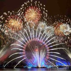 New Year eve @London, what a show.. I have never seen anything like that!