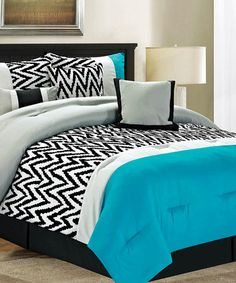 Blue Bentley Comforter Set