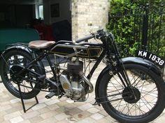 1926 SUNBEAM LONG STROKE MODEL 6 VINTAGE CLASSIC MOTORCYCLE