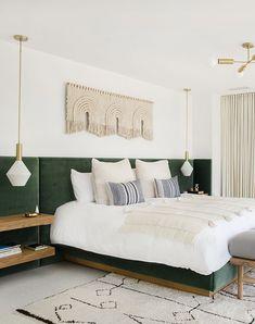 Home Interior White Sarah Sherman Samuel:Mandy Moore Master Bedroom Tour 70s Bedroom, Home Decor Bedroom, Bedroom Ideas, Bedroom Lamps, Bedroom Chandeliers, Light Bedroom, Bedroom Inspiration, Bedroom Furniture, Wall Lamps