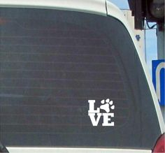 Car Sticker POWERED BY SHEER LUCK Funny Van Window Bumper Boot Door Decal
