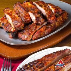 Maple Mustard Ribs In the oven, slow-cooked or grilled, these Chili Maple Mustard Ribs are everything!In the oven, slow-cooked or grilled, these Chili Maple Mustard Ribs are everything! Slow Cooked Meals, Slow Cooker Recipes, Cooking Recipes, Rib Recipes, Low Carb Recipes, Healthy Recipes, Yummy Recipes, Clean Eating, Healthy Eating