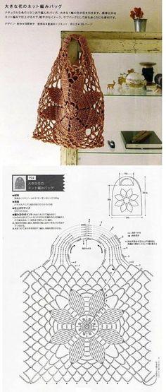 Marvelous Crochet A Shell Stitch Purse Bag Ideas. Wonderful Crochet A Shell Stitch Purse Bag Ideas. Crochet Diy, Crochet Beach Bags, Crochet Motifs, Crochet Tote, Crochet Diagram, Crochet Handbags, Crochet Purses, Crochet Chart, Filet Crochet