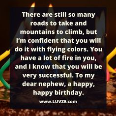 Birth Day QUOTATION – Image : Quotes about Birthday – Description happy birthday nephew Sharing is Caring – Hey can you Share this Quote !