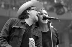 Bono & Eddie Vedder