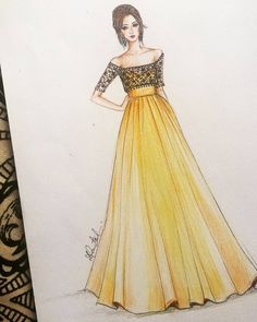 Fashion design sketches 631137335261500090 - Mode Source by Dress Design Drawing, Dress Design Sketches, Fashion Design Sketchbook, Fashion Design Drawings, Dress Drawing, Fashion Sketches, Wedding Dress Sketches, Dress Designs, Fashion Drawing Dresses