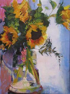 Sunny Day, oil on canvas