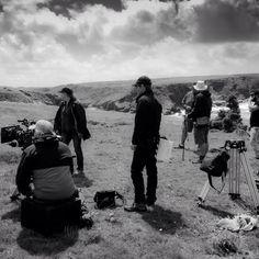 Via sicraze on Instagram #cameraman #poldark #cliffs #coast #cornwall #filmset #filming