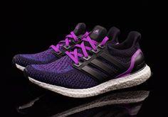 c39b451b85fd6 adidas Ultra Boost Women s Black Purple AQ5935