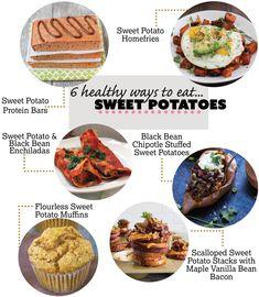 6 Healthy Ways to Eat Sweet Potatoes