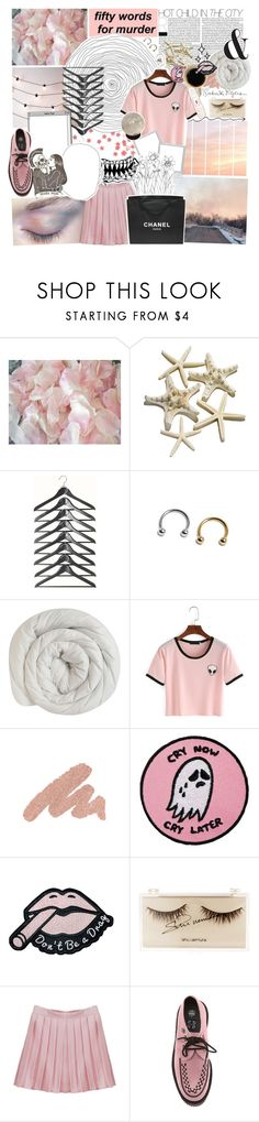 """Die In Beautiful Stars"" by amberishdead ❤ liked on Polyvore featuring Band of Outsiders, Urban Decay, shu uemura, Chanel and Hot Topic"