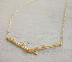 From the new collection by #shlomitofir Beautiful Bird on wire Necklace