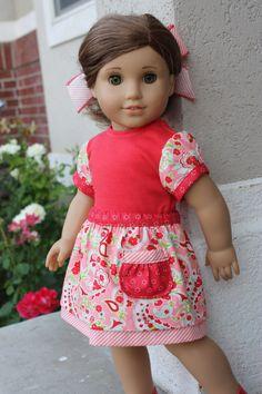 American girl doll Doll clothes 18 inch doll by GrandmasDollCloset