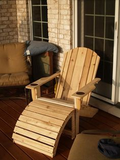 Custom Made Classic Adirondack Chairs Adirondack Chair Plans, Adirondack Furniture, Lawn Furniture, Handmade Furniture, Pallet Furniture, Rustic Furniture, Outdoor Furniture, Cheap Furniture, Brown Armchair