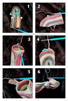 Do you like constructions a bit out of the ordinary? And are you - as me - not really fond of weaving in ends? Then this crochet pattern is made for you. These fingerless gloves are worked in on piece, starting at the outer wrists and ending at the thumb - in an interesting construction that great to show off your variegated yarn. crochet tutorial, crochet pattern, free crochet pattern, crochet, free online crochet pattern, crochet patterns, crochet design, Häkelmuster, Häkelanleitung, G...