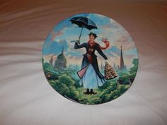 Walt Disney's Mary Poppins Collectors Plate 1989 Edwin M. Knowles Fine China