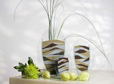 Стильный предмет декора - вазы с песком