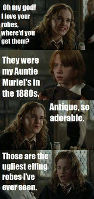 Mean Girls meets Harry Potter
