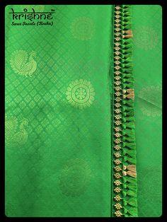 Latest Silk Saree Tassel Kuchus from Krishne Tassels Saree Kuchu New Designs, Saree Tassels Designs, Wedding Saree Blouse Designs, Latest Silk Sarees, Silk Thread Bangles, Simple Sarees, Saree Dress, Bead Jewellery, Hand Embroidery Designs