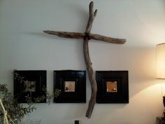 LARGE 6 Foot Driftwood Cross