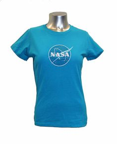 62f84a8d *NEW ITEM* Ladies NASA Meatball Tee - Assorted Colors NASA Kennedy Space  Center Apparel