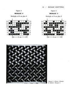 Mosaic Knitting Barbara G. Walker (Lenivii gakkard) Mosaic Knitting Barbara G. Walker (Lenivii gakkard) #19