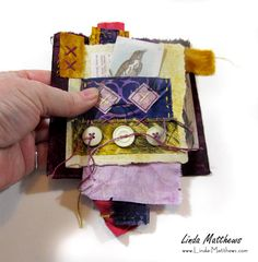 Fragments - stitching together the story of our lives Felt Fabric, Fabric Art, Fabric Crafts, Fabric Books, Sewing Art, Sewing Crafts, Fabric Journals, Art Journals, Embroidery On Clothes