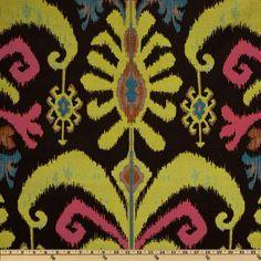 Claridge Mambo Jacquard Black Pearl - Discount Designer Fabric - Fabric.com