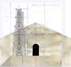 Beniamino Servino 15 02 20 14. Chiesa su basamento e accesso laterale.