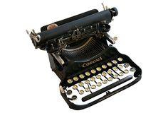 Early-20th-C. Corona Typewriter