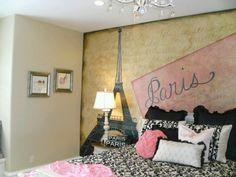 Paris inspired room