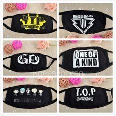 G-dragon GD Bigbang one of kind gdragon KPOP GOODS Mask NEW