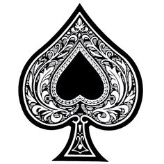 Ace of Spades Tattoo Ace Tattoo Tattoo Spade Tattoo Thoughts Cards . Ace Of Spades Tattoo, Ass Tattoo, Tattoo Wolf, Tattoo Ink, Typographie Fonts, Herz Tattoo, Piercings, Grafik Design, Tattoo Drawings