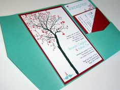 pretty much love everything about this invitation style except the colors